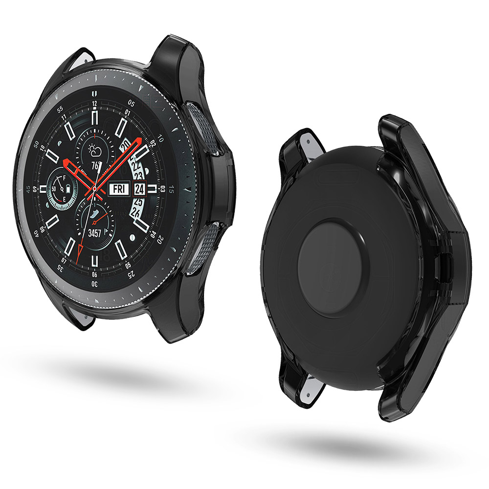 Soft TPU Case for <font><b>Samsung</b></font> Gear <font><b>S3</b></font> <font><b>Frontier</b></font>/Galaxy Watch 46mm <font><b>Smartwatch</b></font> Scratch-resistant Flexible Protective Bumper Cover image
