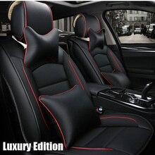 Delantero y Trasero) Cuero del asiento de coche especial cubre Para Hyundai solaris ix35 ix25 i30 acento Elantra tucson Sonata auto accesorios