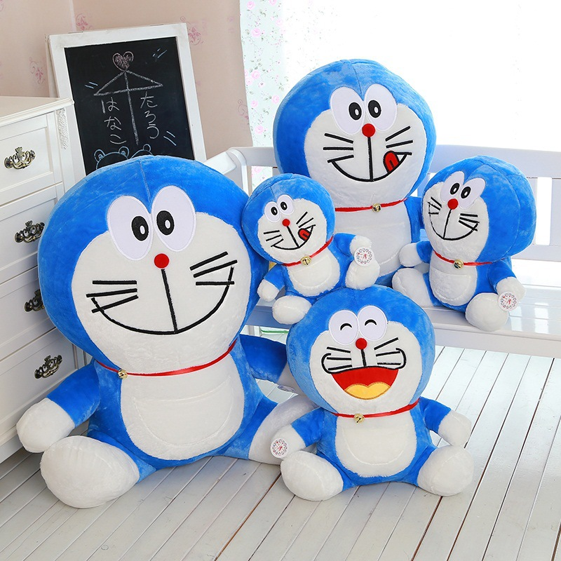 cm one piece pp cotton stuffed soft doraemon plush toy cute