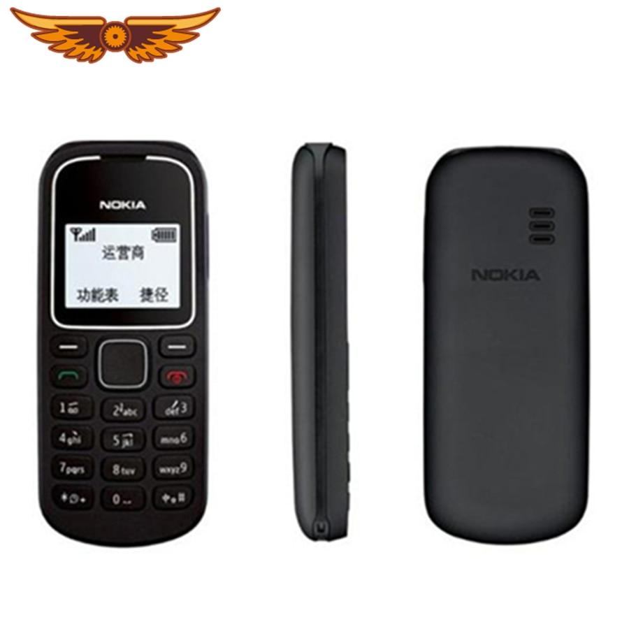 Orijinal Unlocked Nokia 1280 GSM yenilenmiş Bar cep telefonu 800 mAh eski cep telefonu