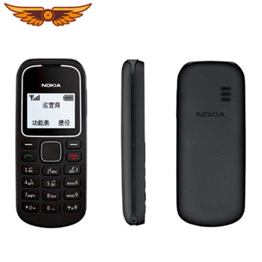 Oryginalny Unlocked Nokia 1280 GSM odnowiony Bar telefon komórkowy 800 mAh stary telefon komórkowy