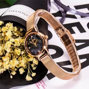 Image 5 - Роскошные повседневные женские часы CIVO 2020, водонепроницаемые кварцевые наручные часы с сетчатым ремешком, женские наручные часы, подарок для жены, женские часы