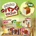 1 unids Original segunda Generación Japón JDream Chocolate Rilakkuma Blando Toast Encanto Blando Correas Del Teléfono de Juguete de Regalo