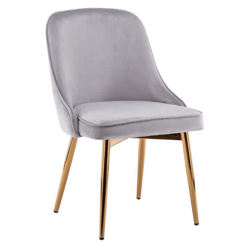 Скандинавский светильник роскошный стул для столовой сетка красный стул Макияж дизайн ногтей Металл домашний спальня стул Кофейня стул - Цвет: VIP 5