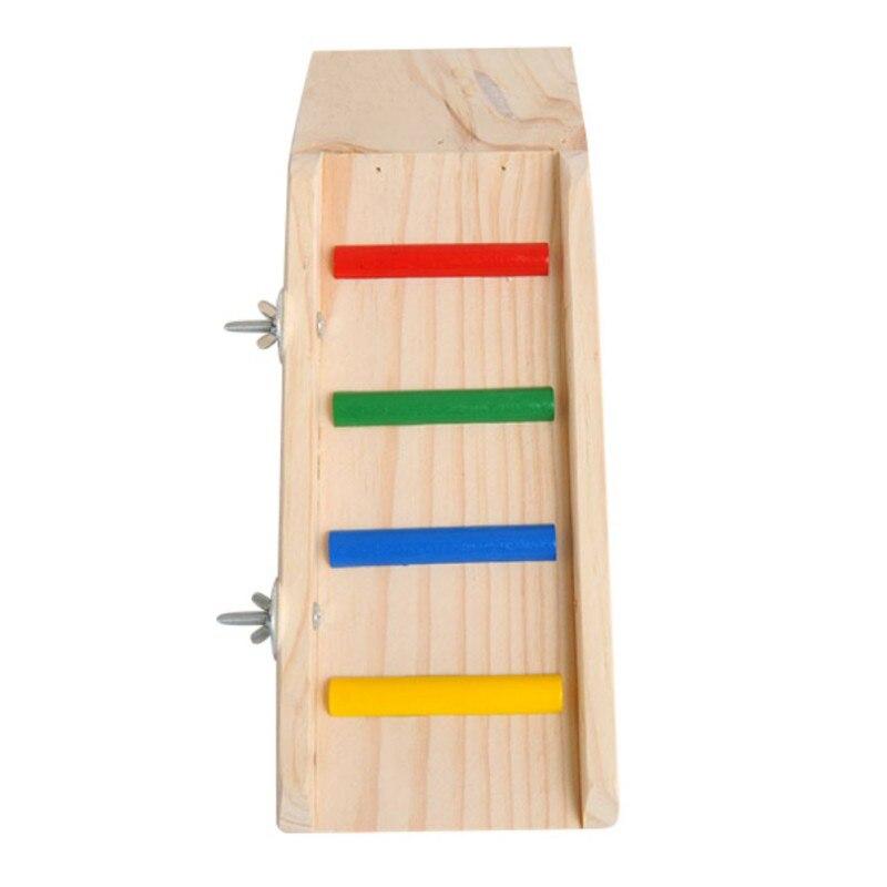 Hamster Hedgehogs Big Slide Guinea Pig Ladder Top quality colorful wood warehouse board platform ladder parrot pendulum toys
