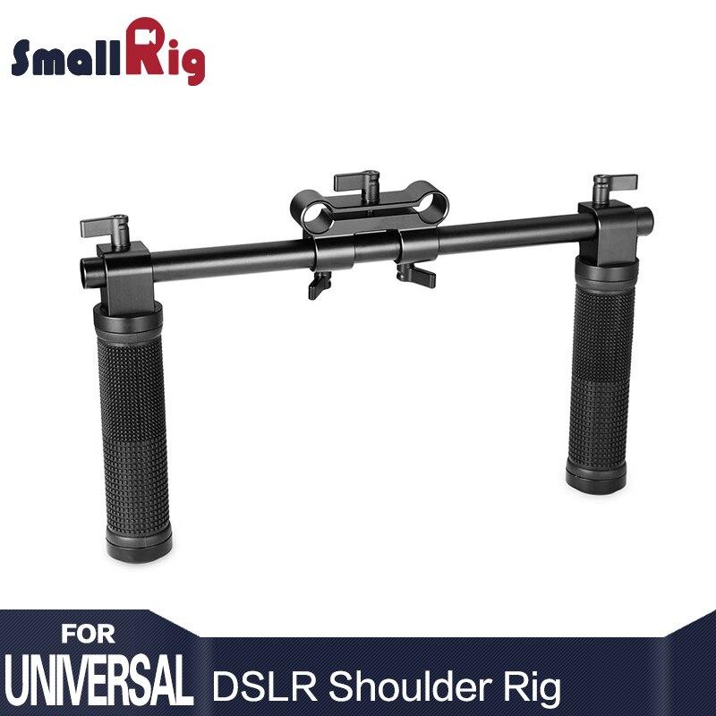 SmallRig Camera Hand Grip Handles For Dslr 15mm Shoulder Rig System Dslr Cameras Follow Focus - 0998