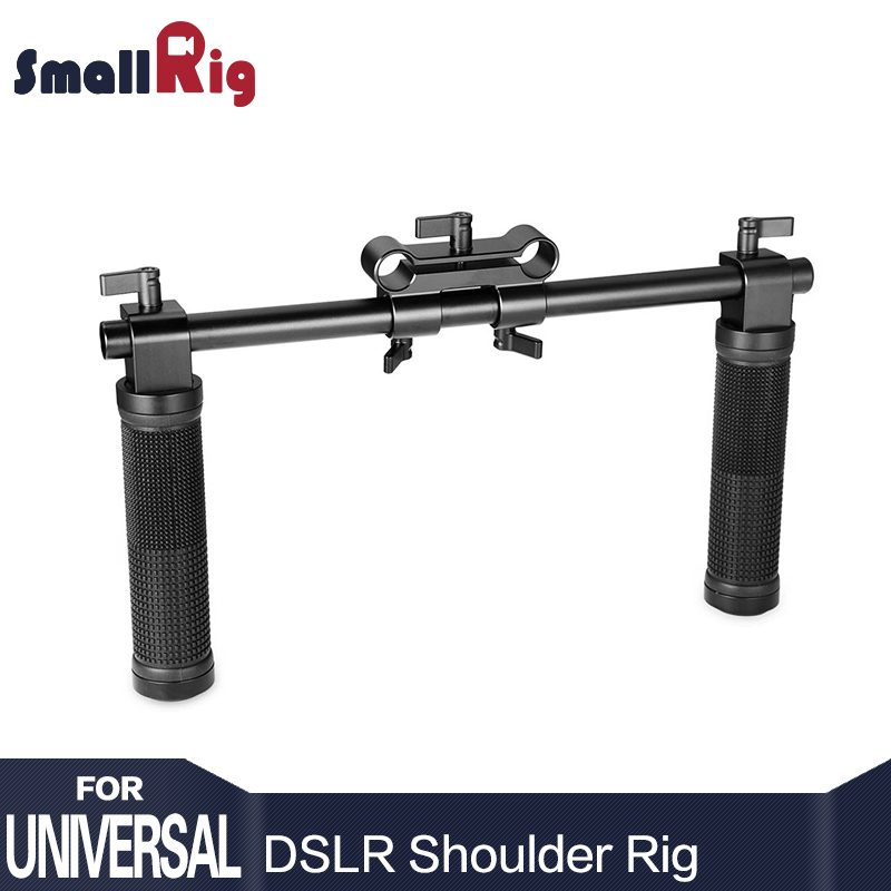 SmallRig Camera Hand Grip Handles for Dslr 15mm Shoulder Rig System Dslr Cameras Follow Focus - 0998 ylg0102h dslr shoulder mount support rig double hand handgrip holder set for all video cameras and dv camcorders