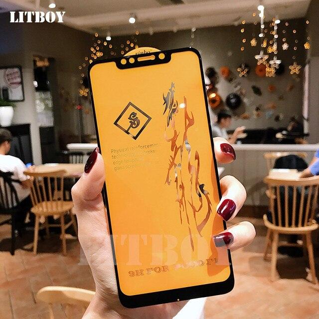 6D Premium Gehärtetem Glas Für Xiaomi Pocophone F1 Redmi 6 Pro A1 A2 Schutz Glas Für Xiaomi Redmi Hinweis 6 screen Protector
