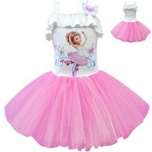 Girls dress fancy nancy beautiful Nancy cosplay childrens sling tutu unicorn party  girl