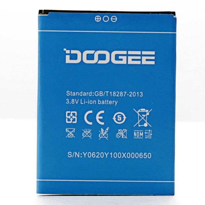 New Original Doogee <font><b>Y100X</b></font> <font><b>Battery</b></font> for 5inch DOOGEE NOVA <font><b>Y100X</b></font> Mobile Phone Free Shipping