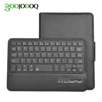 Keyboard Case For IPad Mini 4 3 2 1 PU Leather Folio Smart Cover For Apple