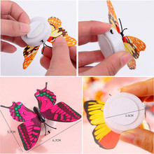 3D House Decoration Wall Sticker Butterfly with LED Light