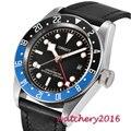 41mm Corgeut Automatische Uhr Sapphire Glas LUME Uhr Mechanische Uhren Klassische Männer Uhr Top Marke Luxus GMT Geschenke für männer-in Mechanische Uhren aus Uhren bei