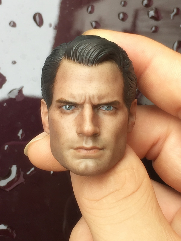 1/6 Head Sculpt Superman Batman Super man 2 male Body for Hot Toys Figure ...