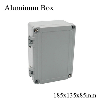 FA13 185x135x85mm Waterproof Aluminum Junction Box Electronic Terminal Sealed Diecast Metal Enclosure Case Connector Outdoor