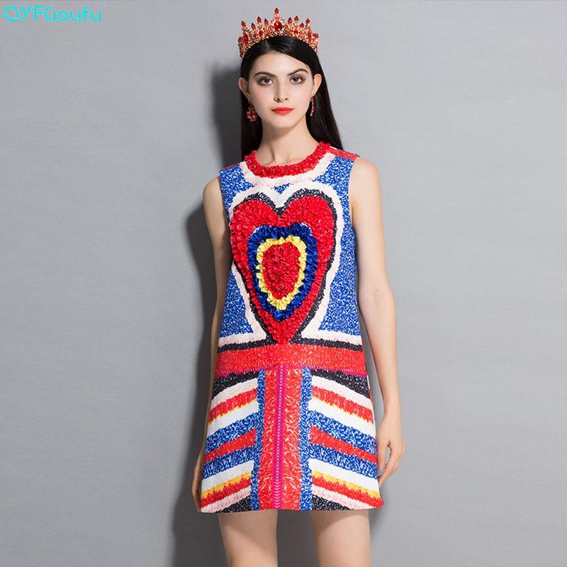Bleu Casual Disque Qyfcioufu Piste Sans Imprimer Haute D'été Designer Robes Femmes Fleurs Mini 2018 Manches Parti Qualité Robe w1CxwTU