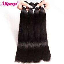 ALIPOP Peruvian Straight font b Hair b font Bundles Remy font b Hair b font Weave