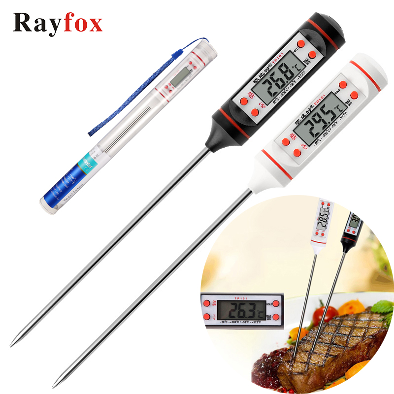 Kitchen accessories gadgets digital thermometer sensor probe for meat water milk bbq cooking tools kitchen supplies tools goods