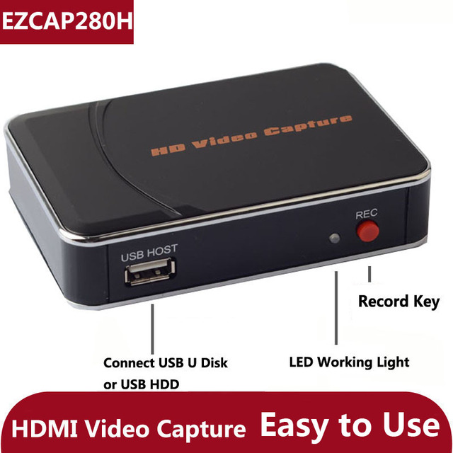 HDMI HD Game Video Capture Card Recorder Box for Xbox PS3 PS4 Video ...