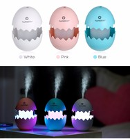 New arrival Mini Car Fun Egg Ultrasonic Humidifier Table Lamp By USB ,And Office Desk Decoration Night Light