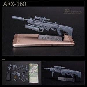 Image 4 - Масштаб 1:6, 1/6, 12 дюймовые экшн фигурки, строительная винтовка, модель оружия для 1/100 мг, модель Bandai Gundam, детские игрушки солдаты HYT0324