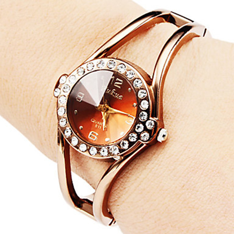 2019 New Luxury Rhinestone Watch Women Rose Gold Women's Watches Bracelet Ladies Watch Clock Saat Reloj Mujer Relogio Feminino