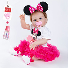 2019 New Lol Dolls Cute Bebe Reborn Soft Dolls Surprise Gift For Baby Silicone High Quality Babies Toddler Doll boys baby reborn silicone dolls 22inch bebe rebron dolls with cute clothes set ydk 12r2 dolls lol tsum tsum toys for children