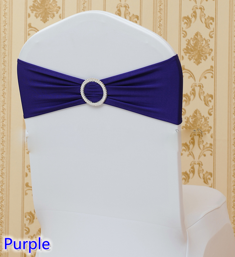 Chair Sashes Bands With Round Buckles For Chair Covers