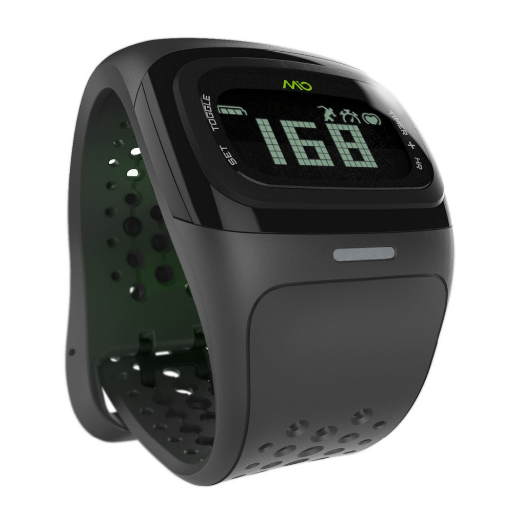 mio alpha 2 without chest belt and touch continue monitor heart rate parameter calorie store data