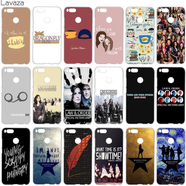 3ad227f93b Lavaza Gilmore Girls Law & Order Special Victims Unit Hamilton Case for  Xiaomi Redmi Note 5 5a mi5 Plus Pro-in Half-wrapped Case from Cellphones ...
