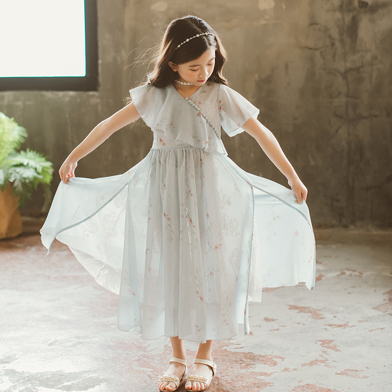 цены на Baby Clothes Girls Dresses 2018 New Autumn Summer Girls Lace Dress Children Clothing Kids Back To School Outfit Princess Dress