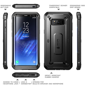 """Image 2 - SUPCASE For Samsung Galaxy S8 Case 5.8"""" Unicorn Beetle UB Pro Full Body Rugged Holster Cover WITHOUT Built in Screen Protector"""