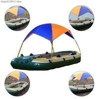 Portable durable Inflatable Fishing Sun Shade Rain Canopy Sailboat Awning Top Boat Shelter Kayak Kit Accessories