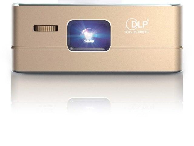 Встроенный аккумулятор Портативный Проектор wi-fi bluetooth подключение мобильного телефона фильм смарт-проектор android4.4 мини светодиодный DLP Проекторы