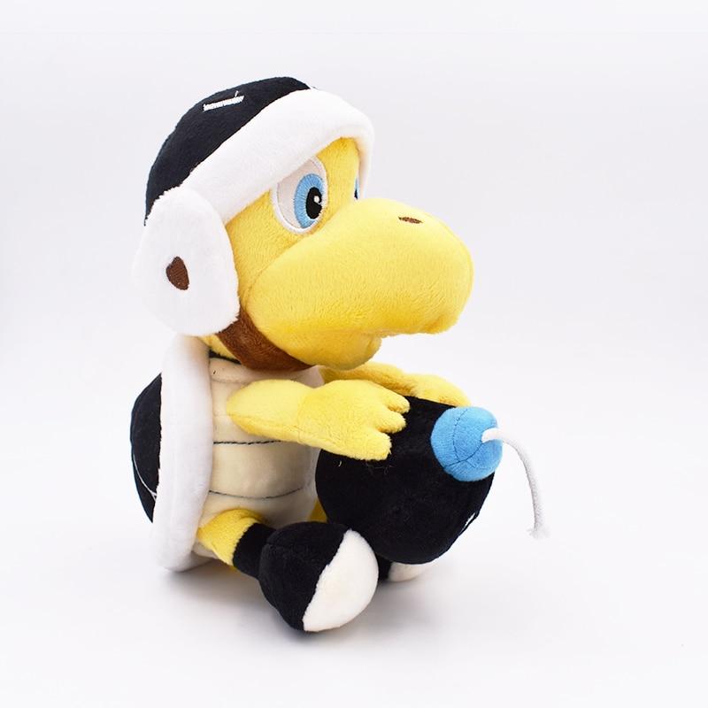 Super Mario Bros Koopa Troopa Landmine Skull Turtle 1pcs 20cm Plush Toy Stuffed Animal Toys Doll For Kids Christmas Gift 2