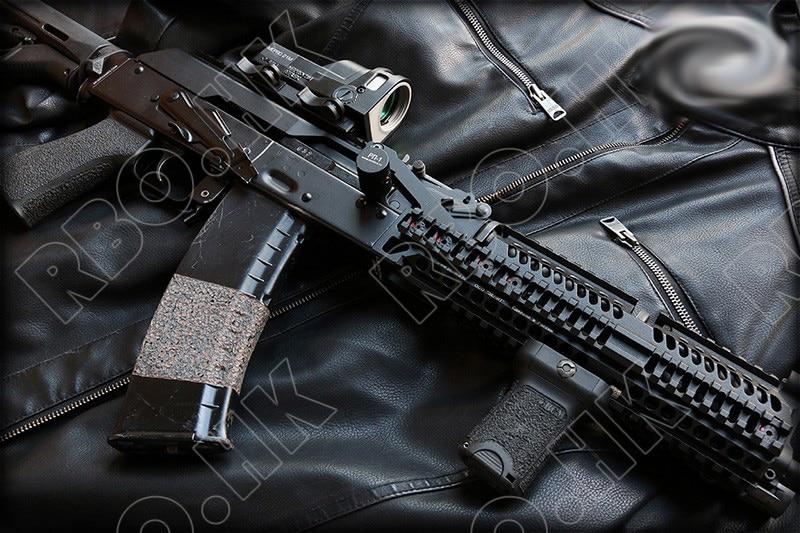 Tactical AK 47 Lightweight  Handguard System For 20mm Picatinny Rail Moutn Base Cnc Aluminum Alloy B30 B31 RAIL M2019