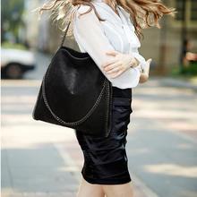 Модная женская сумка на плечо с цепью через плечо