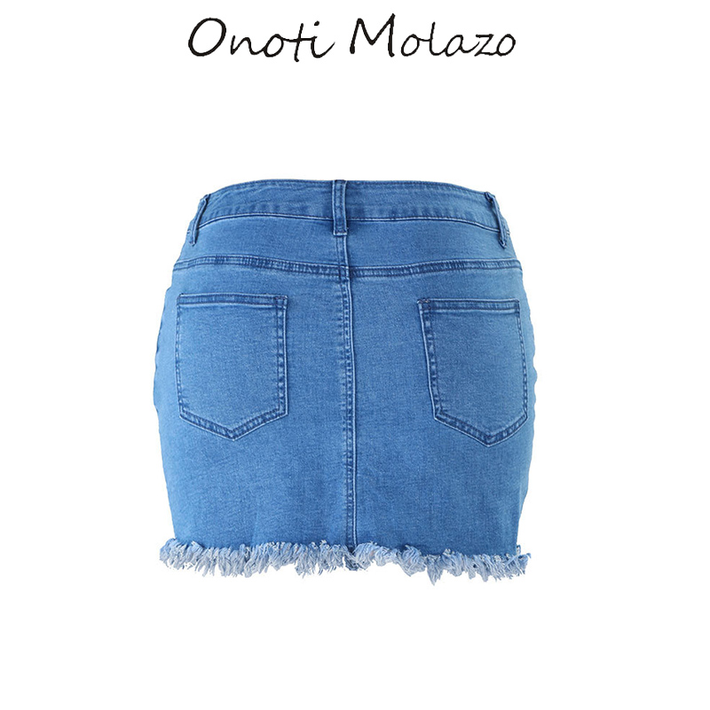 903b442b5b 2019 Summer Jeans Skirt Tassels Denim Skirts Womens Casual Cotton A line  Jeans Short Mini Skirt Female Bottoms Hot Sexy-in Skirts from Women's  Clothing on ...