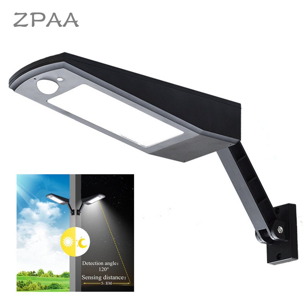 900LM 48LED Solar Power Street Light PIR Motion Sensor Wireless Wall Lamp Garden Security Lamps Outdoor