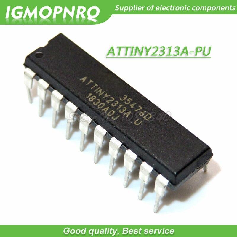 10 PCS ATTINY2313V-10PU DIP-20 ATTINY2313 2313 ATTINY2313A-PU Flash