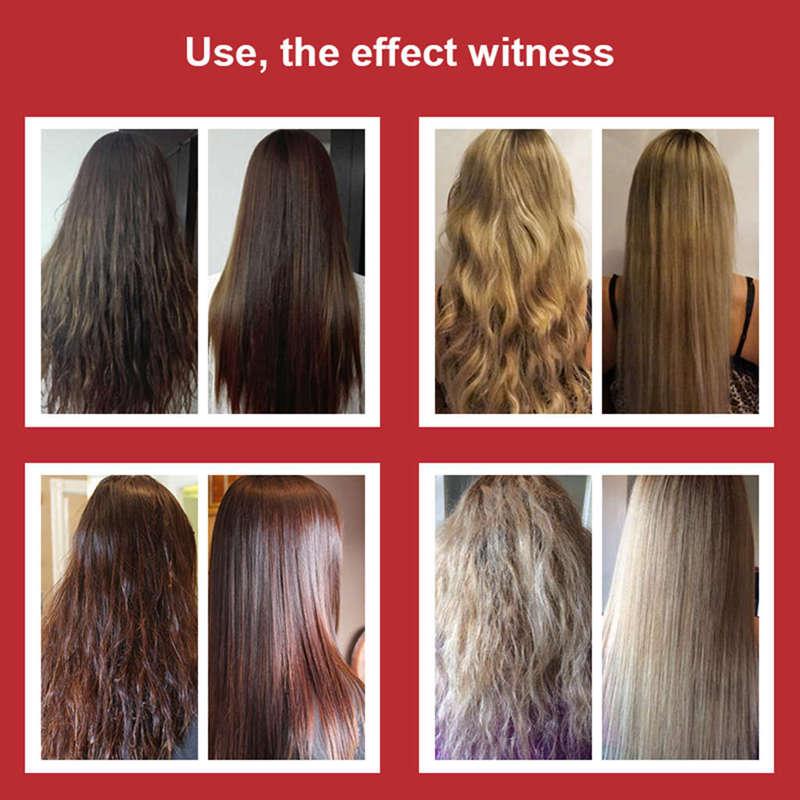 Купить с кэшбэком Purc Brazilian Keratin Hair Treatment 300Ml Formalin 5% Straightener And Treatment For Damaged Hair Hair Care