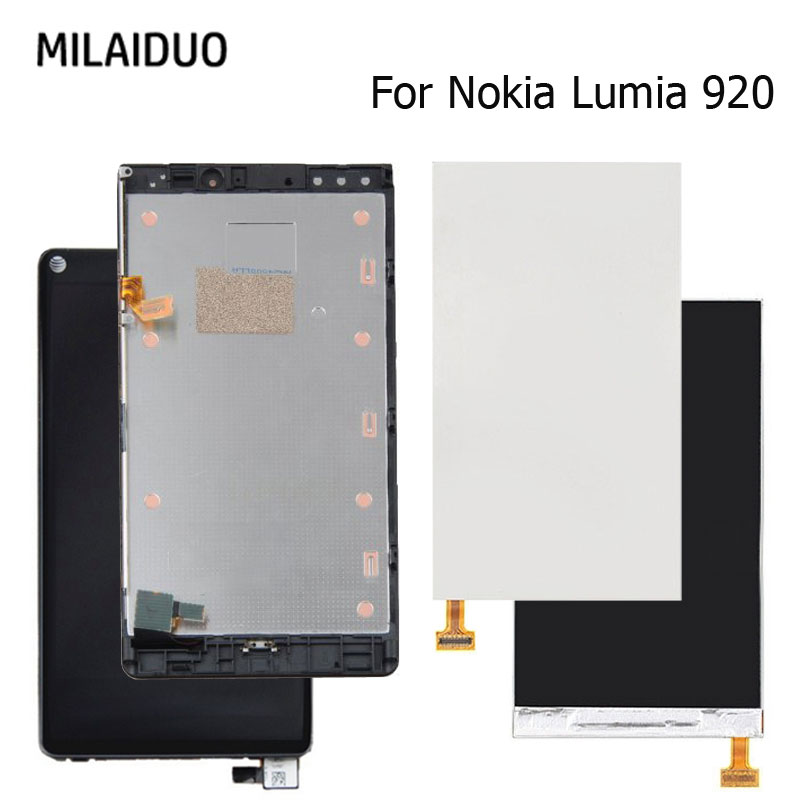 Original LCD Display For Nokia Lumia 920 Touch Screen Digitizer Full Assenbly Replacement With Frame 4.5 No Dead PixelsOriginal LCD Display For Nokia Lumia 920 Touch Screen Digitizer Full Assenbly Replacement With Frame 4.5 No Dead Pixels