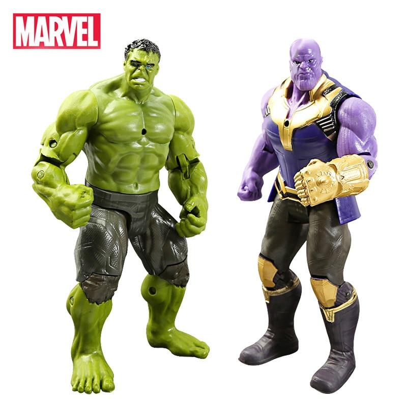 10 Set 16CM Avengers Playset Thanos Hulk Iron Man Spider Man Iron Man Thor Groot