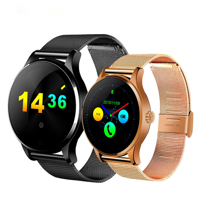 Lsmartlife K88H Smart Watch Track Wristwatch Bluetooth Heart Rate Monitor Pedometer Dialing Smartwatch Phone For Android