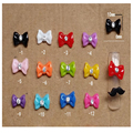 10PCS Hot 3D Resin With Crystals Nail Rhinestone 3D nails art Pink Bow Tie Butterfly Nail Art Decoration Stickers DIY ~HS012
