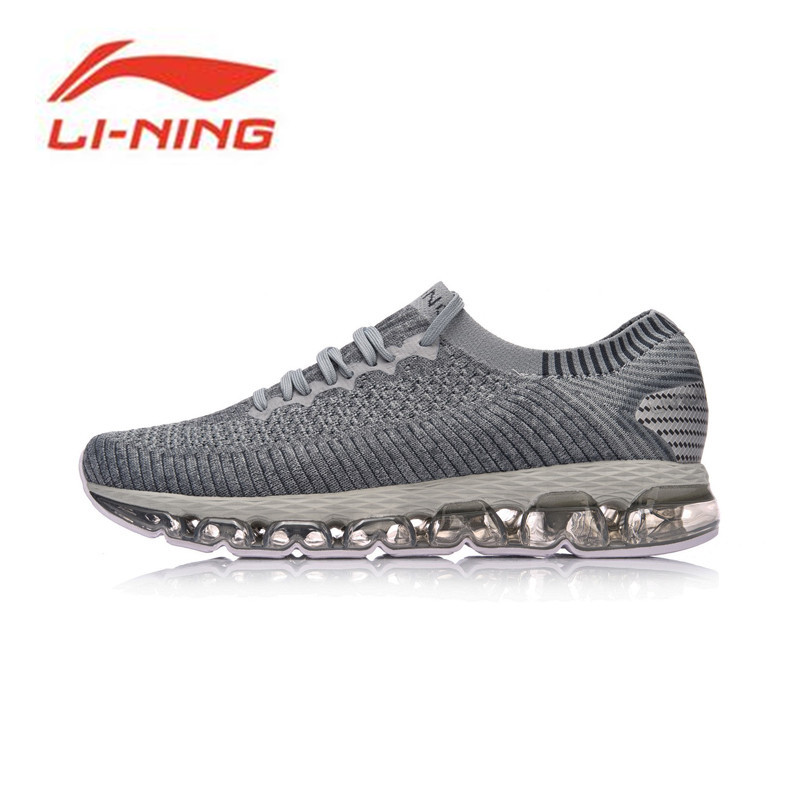 Li-ning 2018 גברים נעלי ריצה כרית קשת LN כמו גרב נעלי ספורט כושר ביש נושם סניקרס ARHN035