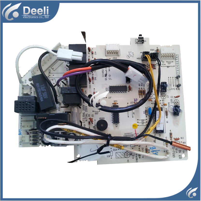 95% new good working for Gree air conditioner split air conditioner pc board motherboard 5J53A 300556062 GR5J-1ST 574680 001 1gb system board fit hp pavilion dv7 3089nr dv7 3000 series notebook pc motherboard 100% working