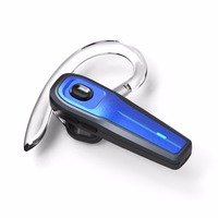 Bluetooth Headset Wireless Earpiece With Mic Hands Free Headphones Earbuds For Office Sport Drive For IPhone
