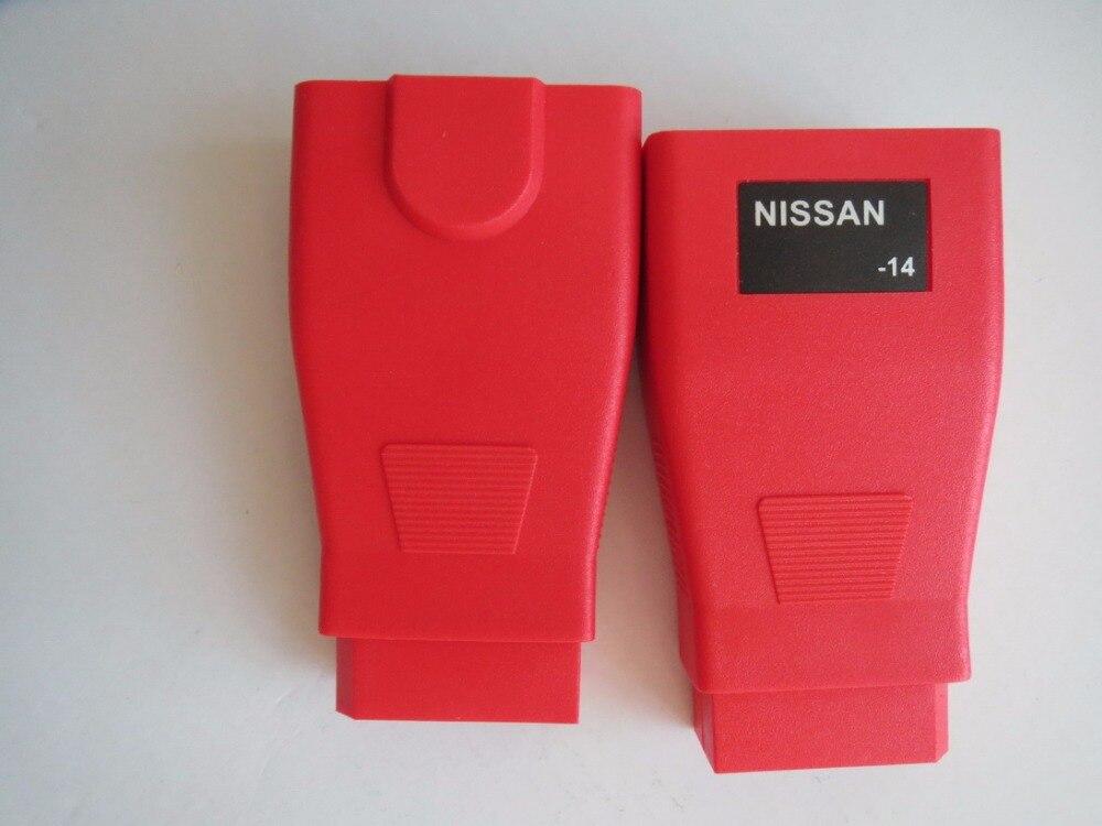 Цена за Autel MS908 Maxisys MS908P Для NISSAN 14 Контактный Разъем Для OBD2 16pin Разъем OBD Бесплатная Доставка