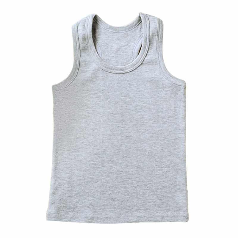 Baby Boys Girls Vest Undershirts Kids Singlet Cotton Underwear Summer  Children Vests Tops 7 Candy Color Newest Solid|Tanks & Camis| - AliExpress